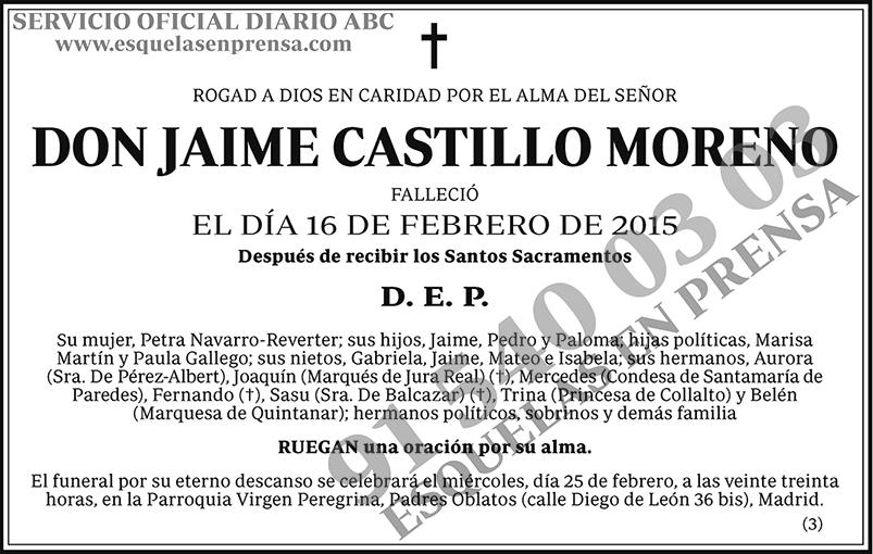 Jaime Castillo Moreno